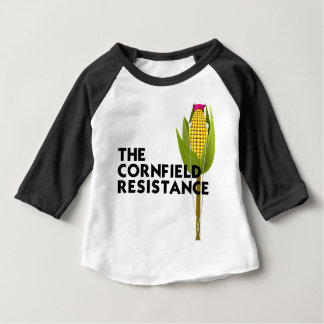 Baby Raglan - The Cornfield Resistance Baby T-Shirt