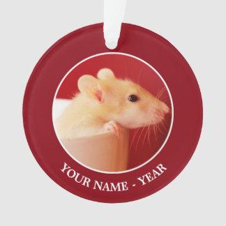 Baby Rat Ornament