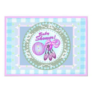 rattle baby shower invitations announcements zazzle ca