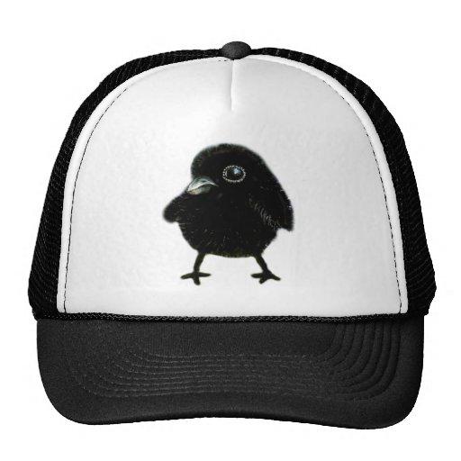 Baby raven trucker hat