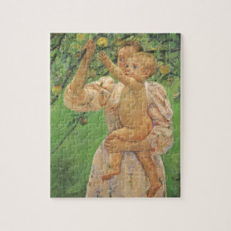Baby Reaching for an Apple by Mary Cassatt Jigsaw Puzzle