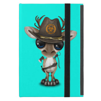 Baby Reindeer Zombie Hunter Cover For iPad Mini