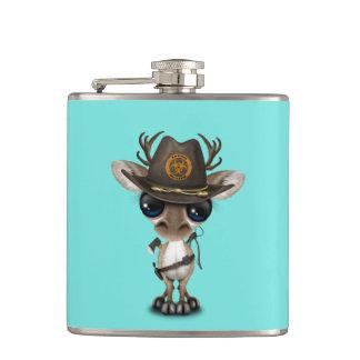Baby Reindeer Zombie Hunter Hip Flask