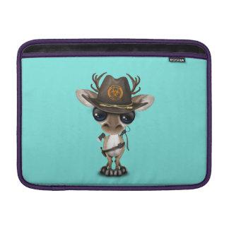 Baby Reindeer Zombie Hunter MacBook Sleeve
