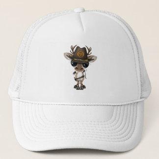 Baby Reindeer Zombie Hunter Trucker Hat