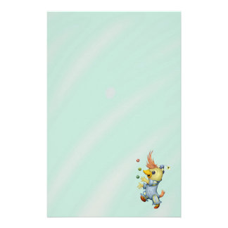 "BABY RIUS CARTOON  5.5"" x 8.5"" Stationery Basic"