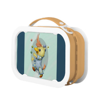 BABY RIUS CARTOON  Blue yubo Lunch Box 2