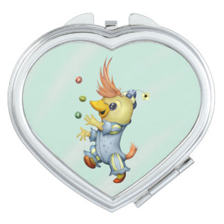 BABY RIUS CARTOON Heart compact mirror