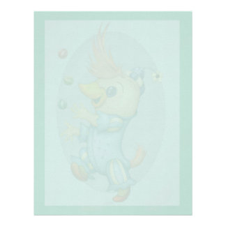 BABY RIUS  CARTOON  Letterhead Linen