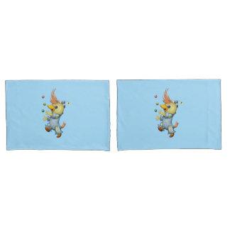 BABY RIUS CARTOON Pair Pillowcases STANDARD