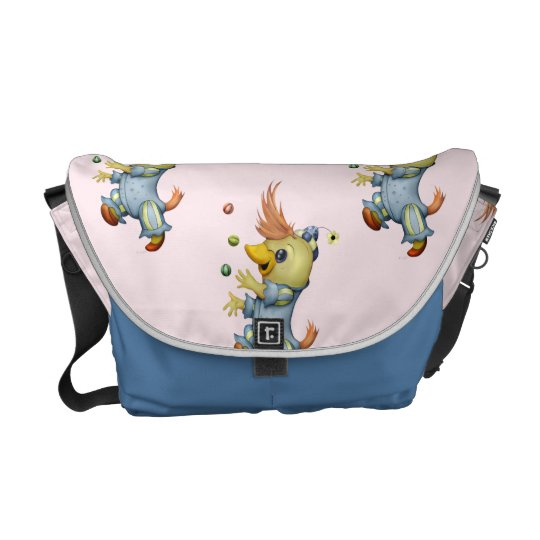 BABY RIUS CARTOON Rickshaw MEDIUM  MessengerBag Courier Bags