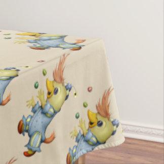 "BABY RIUS CARTOON Tablecloth COLOR LIPS 60""x104"""