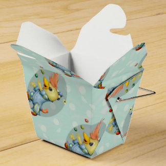 BABY RIUS CARTOON Take Out Favor Box