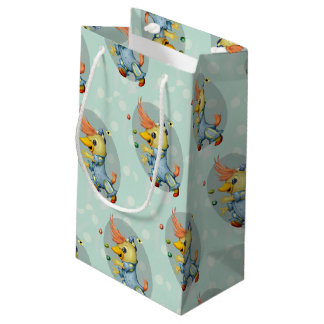 BABY RIUS CUTE CARTOON Gift Bag -  SMALL MATT