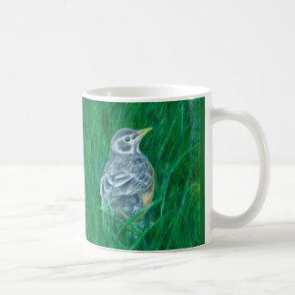 Baby Robin Drawing Mug