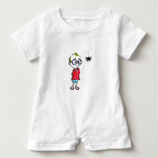 BABY ROMPER - CURIOUS LITTLE BOY