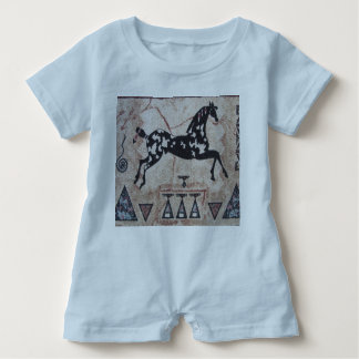 Baby Romper--Indian Pony Baby Romper