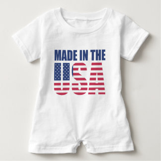 Baby Romper Made in the USA