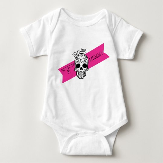 """Baby Romper """"Protected By Mummy"""""""