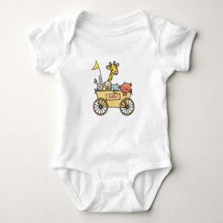 Baby rompertje with bolderwagen full cuddling baby bodysuit