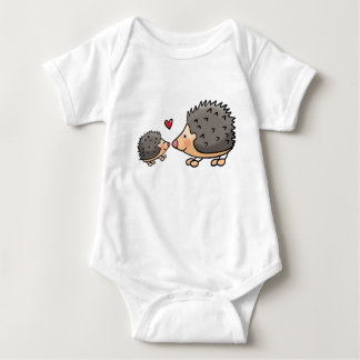 Baby rompertje with egeltjes baby bodysuit