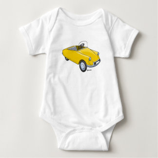 baby rompertje with image Citroën D staircase car Baby Bodysuit