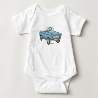 Baby rompertje with vintage Peugeot Baby Bodysuit