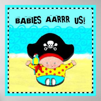 baby room art poster