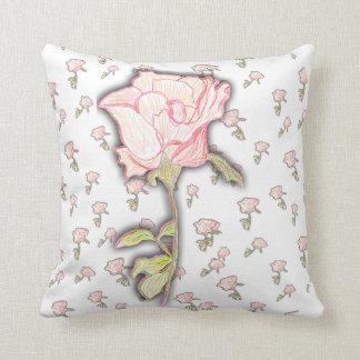 Baby Rose Throw Pillow