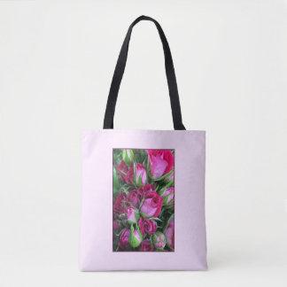 Baby rosebuds tote bag