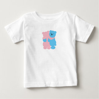 Baby's apparel with teddy bears baby T-Shirt