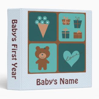Baby s First Year Binder - Boy