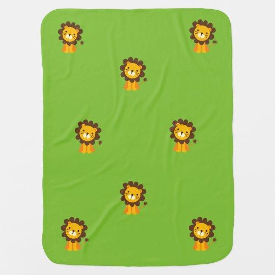 Baby Safari Stroller Blanket