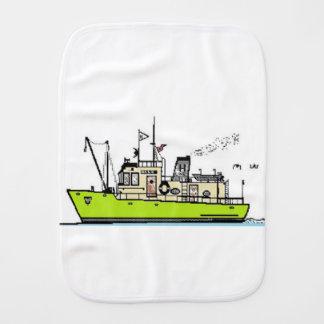 Baby Sailor Burp Cloth