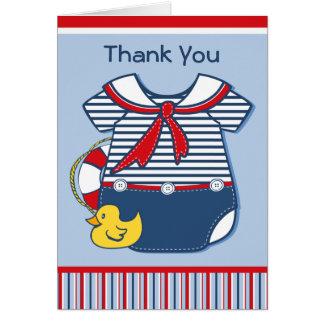 Baby Sailor Suit A Card