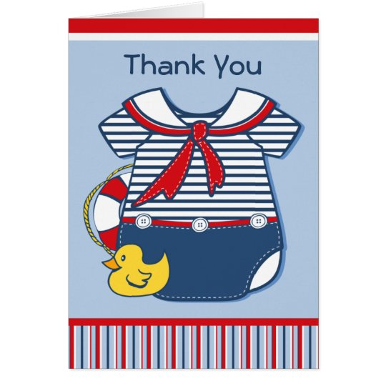Baby Sailor Suit A Card