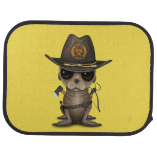 Baby Sea lion Zombie Hunter Car Mat