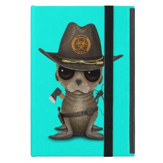 Baby Sea lion Zombie Hunter iPad Mini Case
