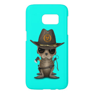 Baby Sea lion Zombie Hunter Samsung Galaxy S7 Case