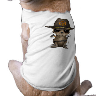 Baby Sea lion Zombie Hunter Shirt