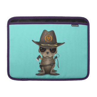Baby Sea lion Zombie Hunter Sleeve For MacBook Air