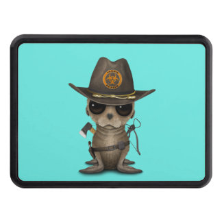 Baby Sea lion Zombie Hunter Trailer Hitch Cover