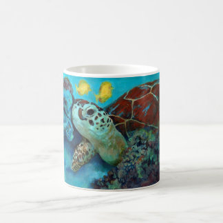 Baby sea turtle coffee mug