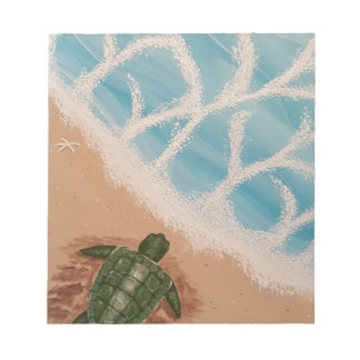 Baby Sea Turtle Notepad