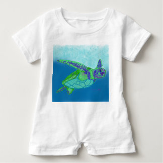 Baby Sea Turtle romper