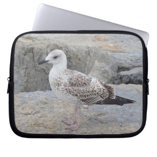 Baby Seagull Neoprene Laptop Sleeve 10 inch