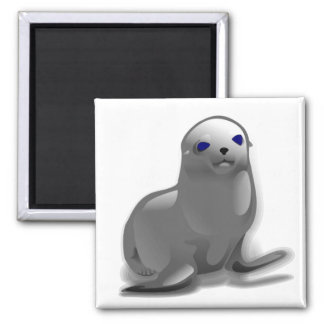 Baby Seal Magnet