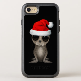 Baby Seal Wearing a Santa Hat OtterBox Symmetry iPhone 8/7 Case