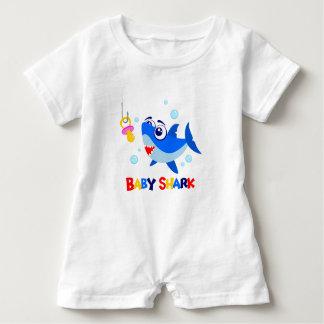 Baby Shark Baby Romper
