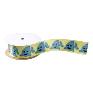 Baby Shark Satin Ribbon